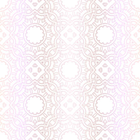 Pastel color Seamless Pattern With Abstract Floral And Leave Style. Repeating Sample Figure And Line. For Modern Interiors Design, Wallpaper, Textile Industry. Vector 向量圖像