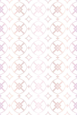 Modern Decorative seamless Abstract geometric pattern. Vector colored illustration. paper for scrapbook