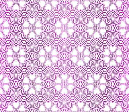 Abstract pattern in Arabian style. Seamless vector background. Tribal Ethnic Arabic, Indian, Motif. For Interior Design, Wallpaper.
