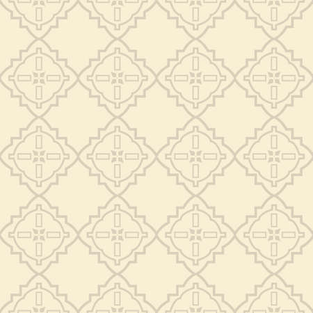 Vector Illustration. Seamless Pattern With Ornament, Decorative Border. Design For Print Fabric, Wallpaper, Interior deocoration. Illustration