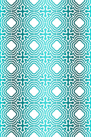 Backgrounds for Papers. Vector Illustration. For Design, Wallpaper, Fashion, Print. Seamless Pattern With Abstract Geometric Style. Blue gradient color.
