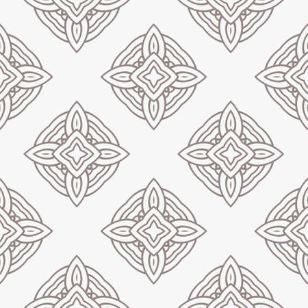 Geometric Pattern. Seamless Texture Grey Color Background. Vector illustration. Иллюстрация
