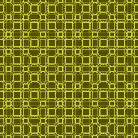 Seamless Geometrical Linear Texture. Original Geometrical Puzzle. Backdrop. Vector illustration. Green color. Archivio Fotografico - 125164485