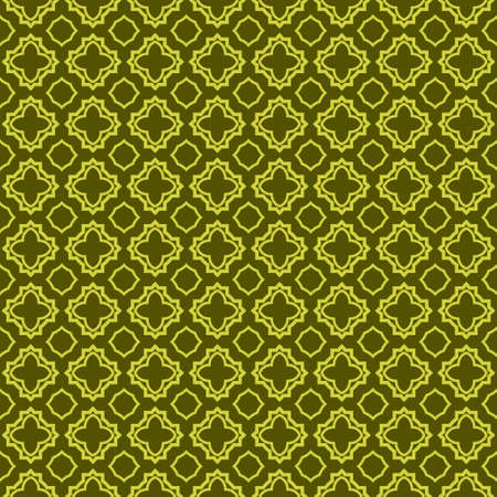 Geometric Pattern. Seamless Texture Green colorColor Background. Vector illustration. Archivio Fotografico - 125164491