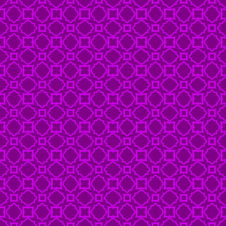 Seamless Pattern With Abstract Geometric Style. Repeating Sample Figure And Line. Vector illustration. Purple color. Archivio Fotografico - 125164565