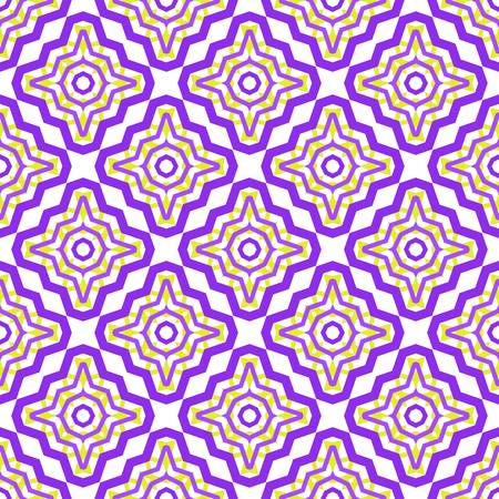 vector template with zigzag lines. Creative illustration. Design for your business, scrapbooking. Purple color. Ilustração
