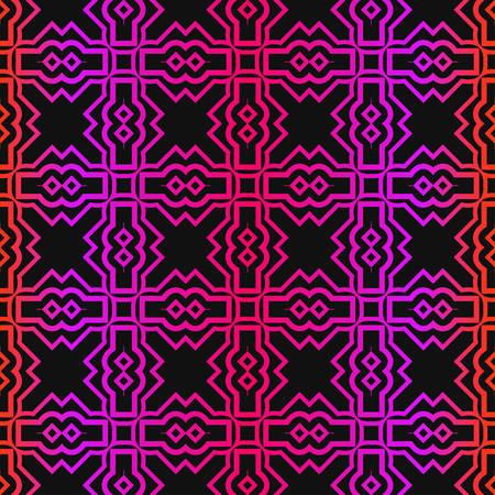 Vector Paper For Scrapbook. GeometricTexture For Wallpaper, Invitation. Seamless Ornament. Black purple color.