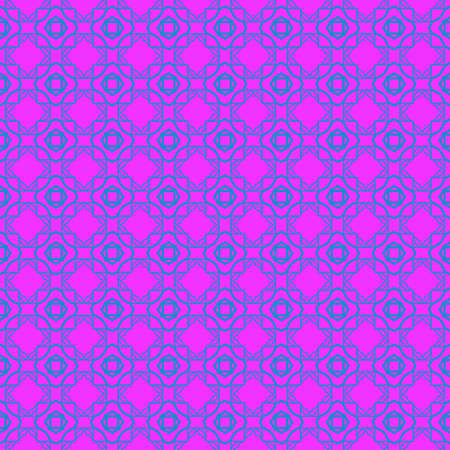 Unique, Abstract Geometric Pattern. Seamless Vector Illustration. For Fantastic Design, Wallpaper, Background, Fantastic Print. Purple blue color.