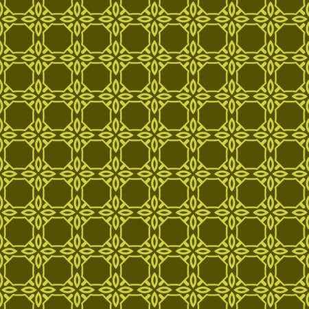 Geometric Pattern. Seamless Texture Green colorColor Background. Vector illustration.