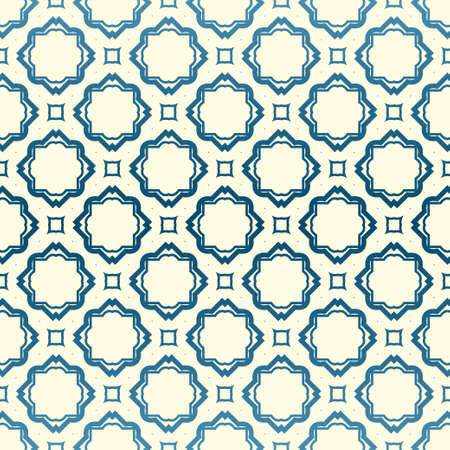 Abstract Vector Seamless Pattern With Abstract Geometric Style. Repeating Sample Figure And Line. For Fashion Interiors Design, Wallpaper, Textile Industry. Pastel color.