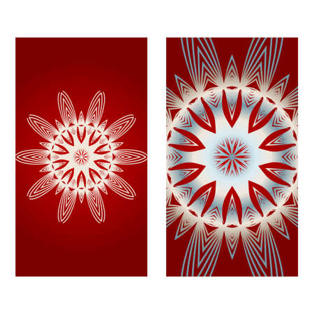 Beautiful Greeting Card For Festival Diwali. Background Vector Ilustration. Festival Celebration In India . Red silver color.