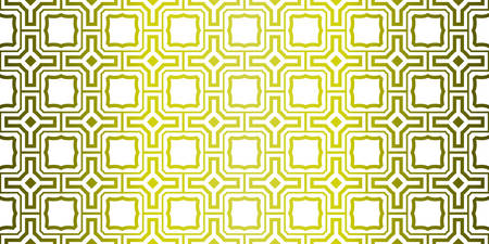 Yellow gradient Color Seamless Lace Pattern With Abstract Geometric. Stylish Fashion Design Background For Invitation Card. Illustration  イラスト・ベクター素材