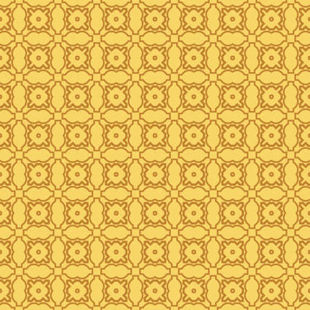 Modern Stylish Geometry Seamless Pattern Art Deco Background. Luxury Texture For Wallpaper, Invitation. Vector Illustration. Orange color.  イラスト・ベクター素材