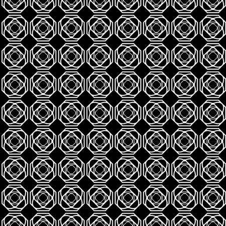 Beaautiful Vector Seamless Geometric Paper For Wrapping paper. Black grey color Çizim