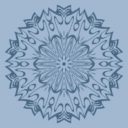 Ornamental Arabic Pattern With Mandala. Vintage Vector For Print Or Web Design. Invitation, Wedding Card, National Design. Pastel color. Illustration
