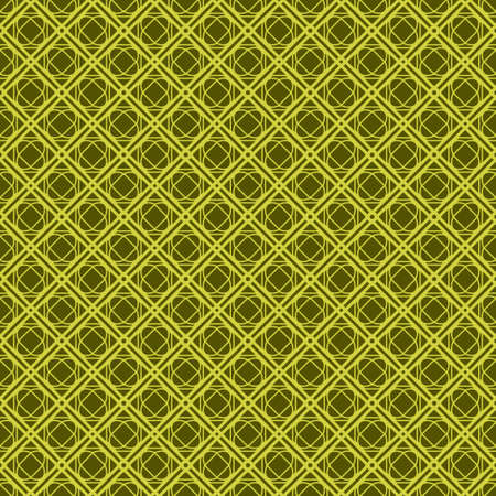 Seamless Geometrical Linear Texture. Original Geometrical Puzzle. Backdrop. Vector illustration. Green color.