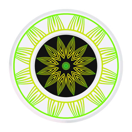 Hand Drawn Background With Mandala. Vector Decorative Elements. Arabic, Indian, Ottoman Motifs.
