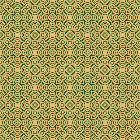 Beautiful Seamless Geometric Ornament Vector Illustration. Abstract