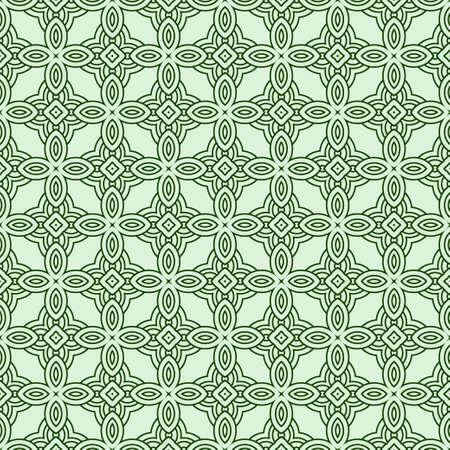 Beautiful Seamless Geometric Ornament Vector Illustration. Abstract Векторная Иллюстрация