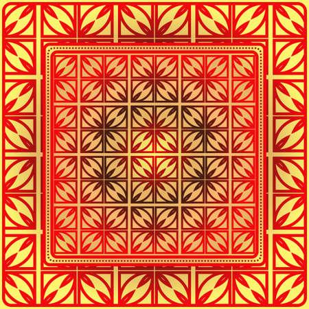 Geometric Pattern. Vector Illustration. Design For Wallpaper, Flyer, Book, Brochure Illustration