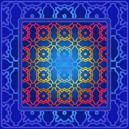 Geometric Pattern. Vector Illustration. Design For Wallpaper, Flyer, Book, Brochure. Illustration