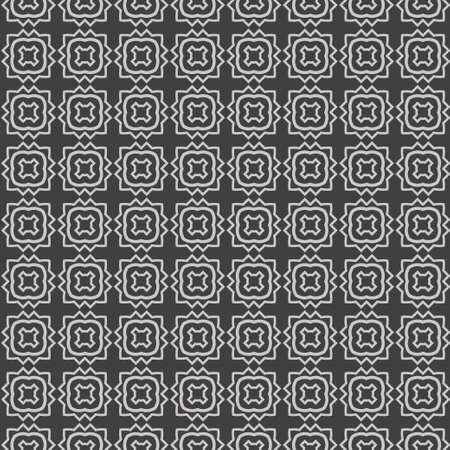 Abstract Repeat Backdrop With Lace geometric Ornament. Seamless Design For Prints, Textile, Decor, Fabric. Super Vector Pattern. Grey color.