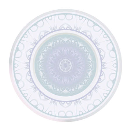 Sacred Oriental Mandala. Floral Ornament. Vector Illustration. Can Be Used For Greeting Card, Coloring Book, Phone Case Print Banque d'images - 123249337