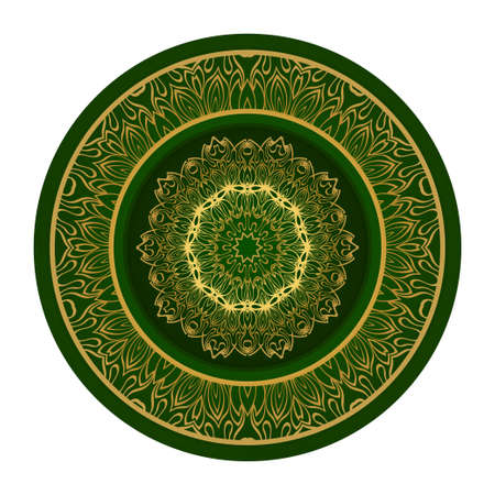Decorative Mandala. Vector Illustration. Isolated. Tribal Ethnic Ornament With Mandala. Anti-Stress Therapy Pattern. Indian, Moroccan, Mystic, Ottoman Motifs