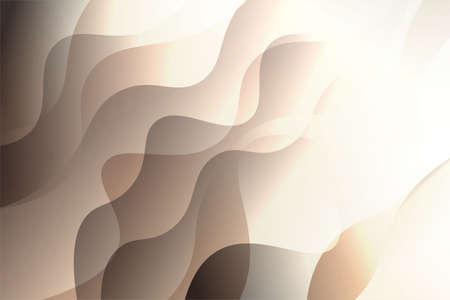 Futuristic Color Geometric Wave Shape. Creative Vector illustration. For club poster design