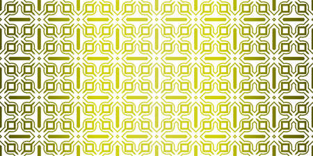 Yellow gradient Color Seamless Lace Pattern With Abstract Geometric. Stylish Fashion Design Background For Invitation Card. Illustration Illustration