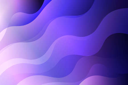 Abstract wavy dynamic background. Creative Vector illustration. For business wallpaper, cover book, print Illustration