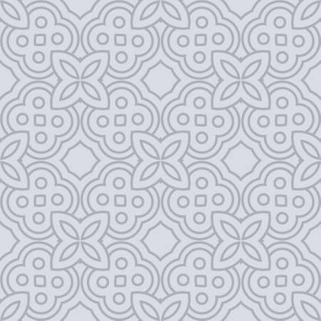 Art Deco Pattern Of Geometric Elements. Seamless Pattern. Vector Illustration. Design For Printing, Presentation, Textile Industry.