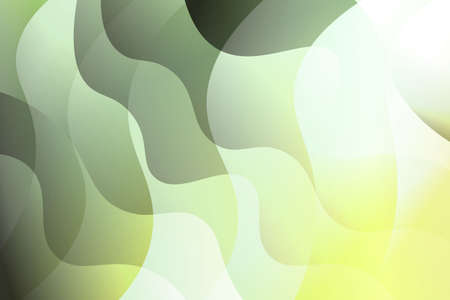 Abstract wavy dynamic background. Creative Vector illustration. For business wallpaper, cover book, print Ilustração