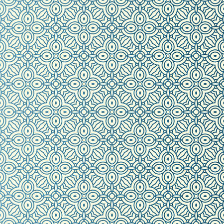 Vector Illustration. Pattern With Geometric Ornament, Decorative Border. Design For Print Fabric. Ilustração
