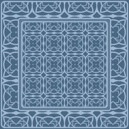 Fashion Design Print With Geometric Pattern. Vector Illustration. For Modern Interior Design, Fashion Textile Print, Wallpaper.