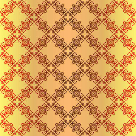 Seamless Color Modern Pattern. Art-Deco Geometric Background. Graphic Design. Vector Illustration Stock Illustratie