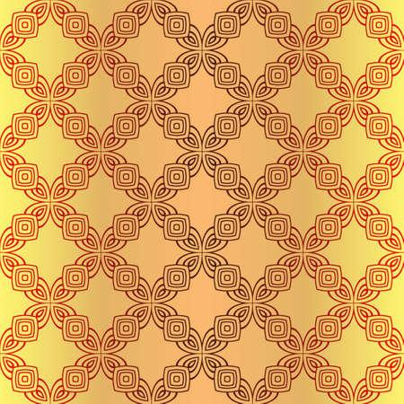 Seamless Color Modern Pattern. Art-Deco Geometric Background. Graphic Design. Vector Illustration Illustration