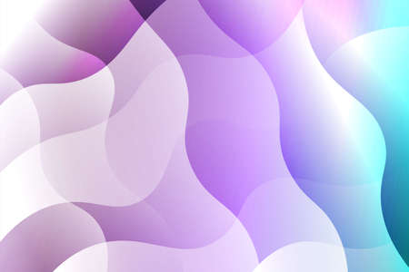 Fantasy wavy dynamic background. Creative Vector illustration. For header page, poster, flyer