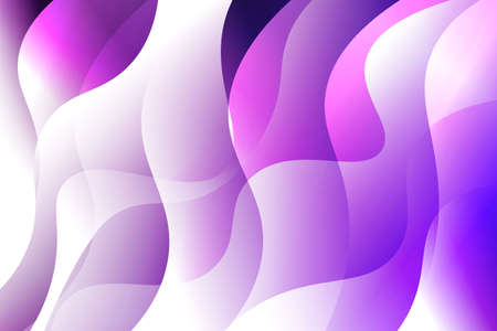Fantasy wavy dynamic background. Creative Vector illustration. For header page, poster, flyer Stock Vector - 122892225