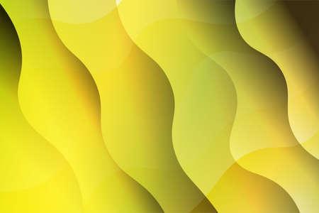 Abstract wavy dynamic background. Creative Vector illustration. For templeta banner, flyer, broshoure Stock Illustratie