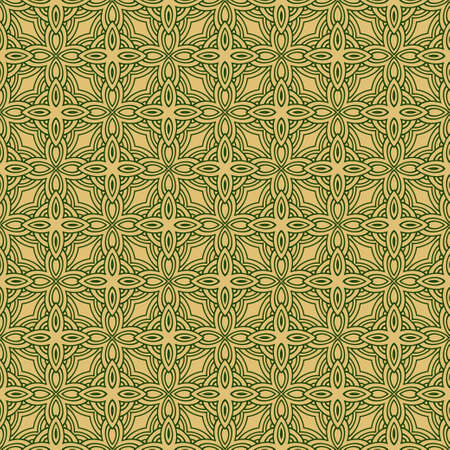 Geometric Pattern With Hand-Drawing Ornament. Vector Super Illustration. For Fabric, Textile, Bandana, Scarg, Colored Print. Stock fotó - 122892357