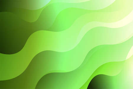 Abstract wavy dynamic background. Creative Vector illustration. For templeta banner, flyer, broshoure Çizim