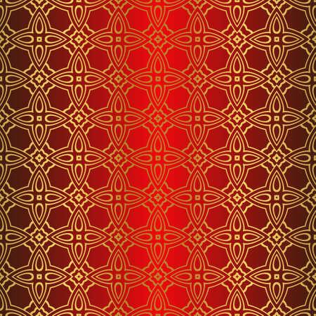 Seamless Color Modern Pattern. Art-Deco Geometric Background. Graphic Design. Vector Illustration 向量圖像