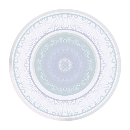 Traditional Ornamental Floral Mandala. Vector Illustration. For Coloring Book, Greeting Card, Invitation, Tattoo. Anti-Stress Therapy Pattern