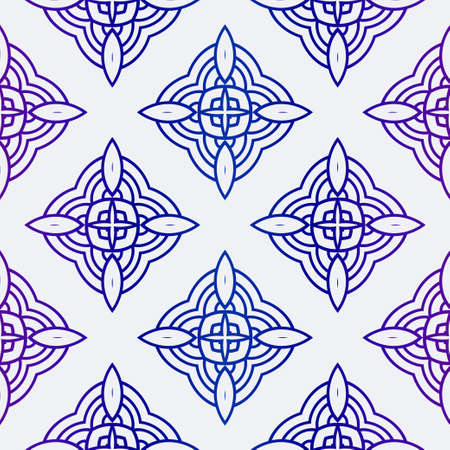 Vector Illustration. Pattern With Geometric Ornament, Decorative Border. Design For Print Fabric. Çizim