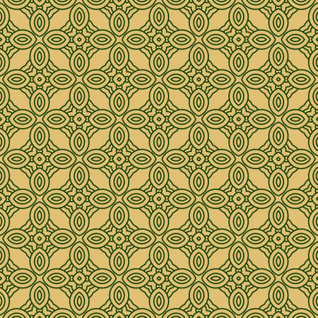 Vector Illustration. Pattern With Geometric Ornament, Decorative Border. Design For Print Fabric. Paper For Scrapbook