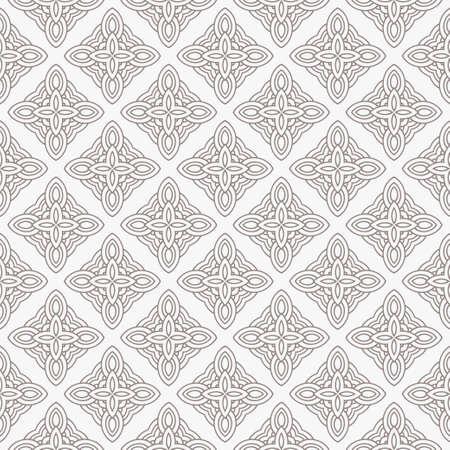 Geometric Pattern. Seamless Texture Grey Color Background. Vector illustration. Stock Illustratie