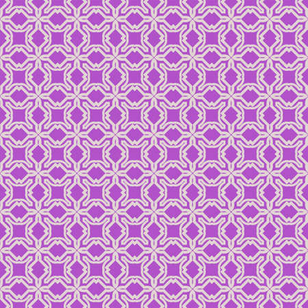 Seamless geometric pattern. Vector illustration. Purple white color. Stock Vector - 133642243