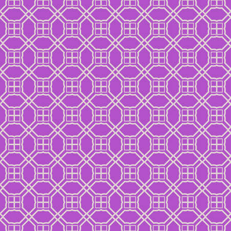 Seamless geometric pattern. Vector illustration. Purple white color. Stock Vector - 133642317