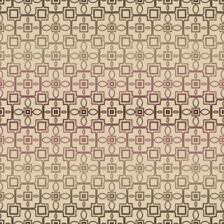 Decorative seamless geometric pattern with mojdern ornament. Vector decoration for fashion print, interior, design.